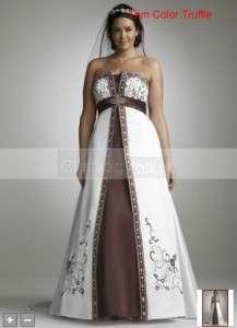 NWT DAVIDS BRIDAL WEDDING DRESS GOWN SZ 22W Style 9YP3066 PLUS SIZE