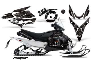 SNOWMOBILE DECAL GRAPHIC KIT YAMAHA PHAZER RTX GT MTX 07 12 REAPER K