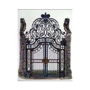 Wrought Iron Gate Poster Print
