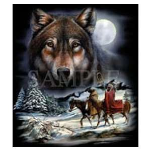 T shirts Animals Wildlife Wolf Spirit 4xl: Everything Else