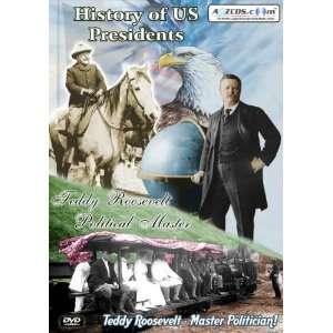 History of US Presidents Teddy Roosevelt   Political Master (2 DVD