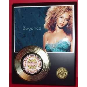 BEYONCE GOLD RECORD LIMITED EDITION DISPLAY Everything