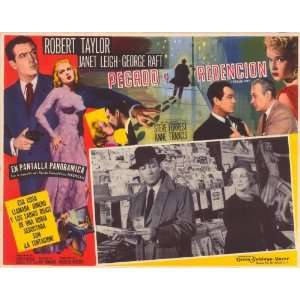 Robert Taylor)(Janet Leigh)(George Raft)(Steve Forrest)(Anne Francis