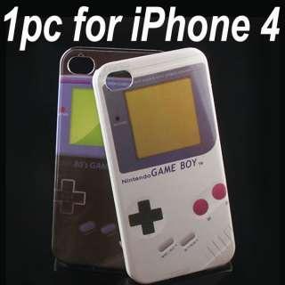 1PCS Retro Nintendo Game Boy Hard Case Back Cover Apple iPhone 4 4G