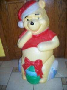 BLOW MOLD YARD DECOR CHRISTMAS DISNEY WINNIE POOH 33#7