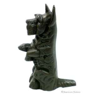 New Cast Iron Dog Door Stop Doorstop Stopper / Decor Home & Kitchen