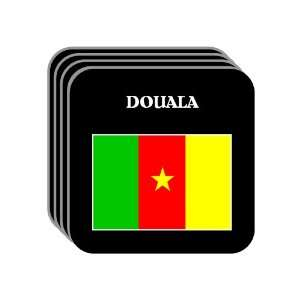 Cameroon   DOUALA Set of 4 Mini Mousepad Coasters