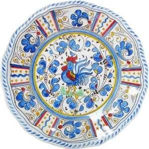 Le Cadeaux Triple Weight Melamine 11 Dinner Plate, Blue