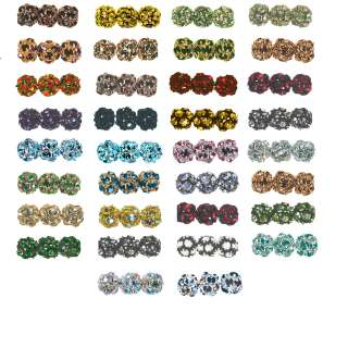 SWAROVSKI RHINESTONE CRYSTAL BEADS 8mm Round Colors