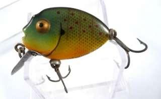VINTAGE ANTIQUE HEDDON TINY PUNKINSEED 380 SUNFISH RARE FISHING LURE