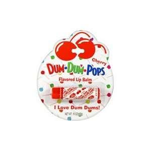 Cherry Flavored Lip Balm   1 pc,(Dum Dum Pops): Health & Personal Care