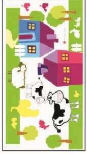 FARM ANIMAL THEME / BORDER   Nursery Wall Stickers kids