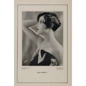 1927 Silent Film Star Sally Phipps Fox Studios Print