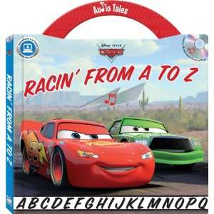 Disney/Pixar Cars Racin from A to Z (Hardcover handle