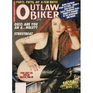 OUTLAW BIKER JULY 1993 PARTS PUTTS AND A FEW BUTTS DAYONA