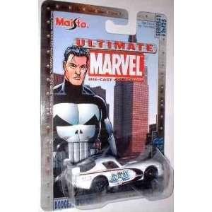 Punisher Die Cast Vehicle 164 Dodge Viper Marvel Toys & Games