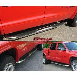00 04 Dodge Dakota Quad Cab S/S Nerf Bars Automotive
