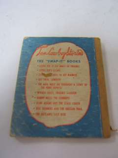 Vintage Little Book Flint Adams and Stage Coach 1949