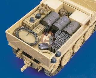 Royal Model 1/35 18 Ton Heavy Half track Sd.Kfz.9 FAMO Stowage Set
