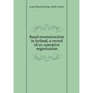 co operative organization Lionel Eldred Pottinger Smith Gordon Books