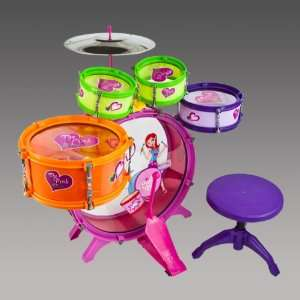 8pc Kids Boy Girl Drum Set Musical Instrument Toy Princess