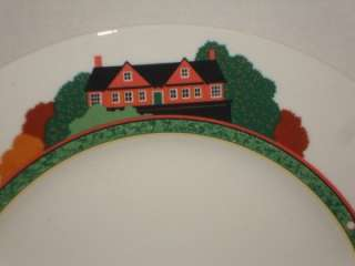 Stuart Mikasa Optima Fairway Golf Golfers Dinner Plate (s)