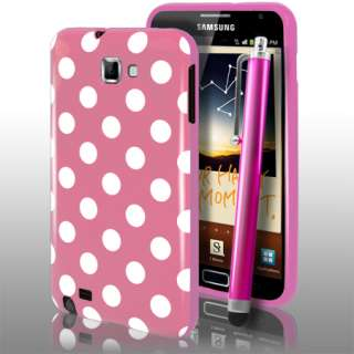 London Magic Store   Baby Pink Polka Dots Gel Case For Samsung Galaxy