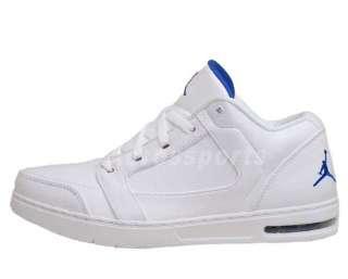 Nike Jordan Classic Low White Royal Blue Air Max Men Basketball Shoes