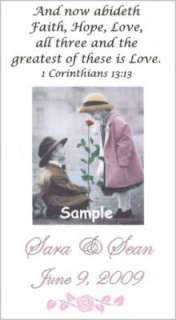 Kim Anderson Wedding Favors MAGNETS Bible Verses Bride