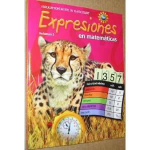 Math Expression, Grade 5 Student Activity Book Houghton