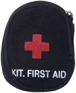 USMC ARMY BOY SCOUT INDIVIDUAL FIRST AID KIT BLACK NEW
