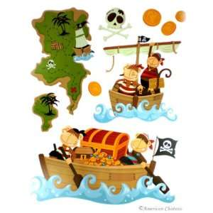 Pirates Kids Room Wall Mural Sticker Decal Wallies