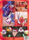 Official Holiday LOONEY TUNES Plastic Canvas Book Christmas ++