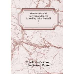 by John Russell. 1 John Russell Russell Charles James Fox  Books