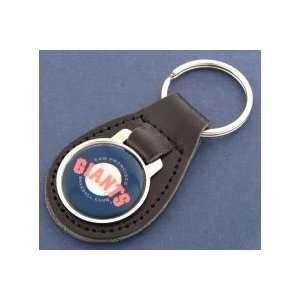 San Francisco Giants Leather Keychain