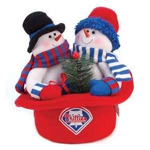 Philadelphia Phillies Snowmen Top Hat Show Off Your