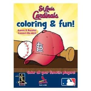 Hawks Nest Publishing MLB St. Louis Cardinals Coloring