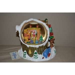 Winnie the Pooh Musical Snow Globe I Will Be Home for X