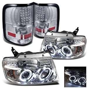 04 08 F150 Halo LED G2 Projector Head Lights + Tail Light Automotive