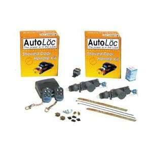 Autoloc SVPRO1 GT Remote Shaved Door Kit W/ Actuators Electronics