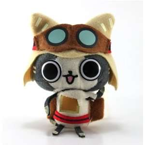 Banpresto Monster Hunter 2011 Plush Strap Brown Goggles