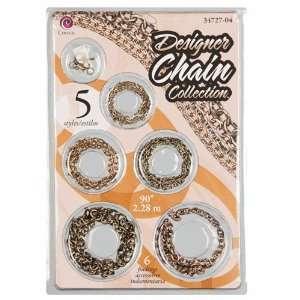 Designer Chain Collection   Antique Gold & Copper Arts