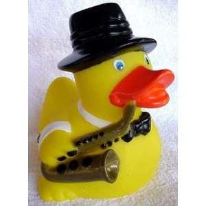 Jazz Musician Rubber Ducky