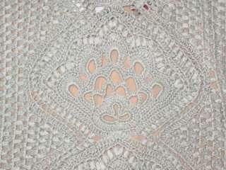 OSCAR DE LA RENTA crochet silk halter top NEW $890 L