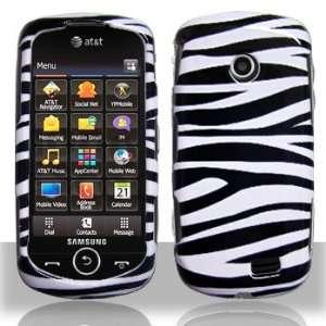 Samsung A817 Solsice II Black Whie Zebra Case Cover