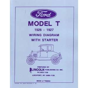 1926 1927 FORD MODEL T Wiring Diagrams Schematics