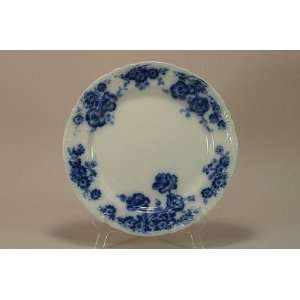 Flow Blue Plate 10 1/2. Ford & Sons, England c. 1893