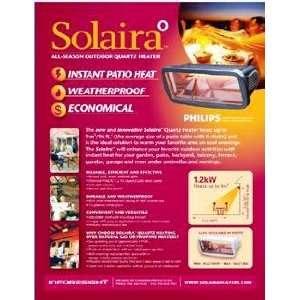 Solaira 1200W Outdoor Electric Quartz Patio Heater 1