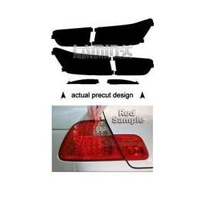 Kia Forte Koup (10  ) Taillight Vinyl Film Covers ( RED