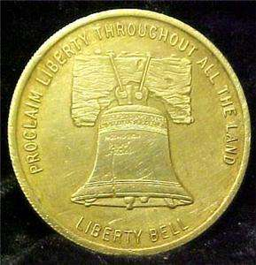LIBERTY BELL ORAL ROBERTS PRAYER 1973 TOKEN 5897